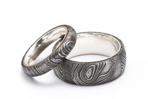 Damast Ringe